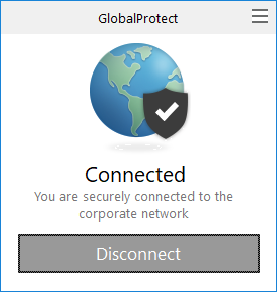 Global Protect Windows disconnect